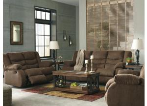 Tulio Chocolate Reclining Sofa