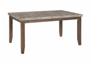 DR92 2-Tone Light Dining Table
