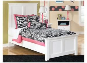 MB5 Cottage White Twin Bed