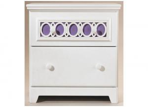 YB11 Colors & White Nightstand