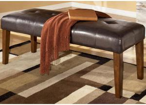 DR13 Medium Brown Contemporary Dining Bench
