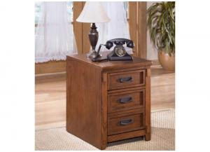 HO1 Mission Oak File Cabinet