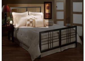 Tiburon King Metal Headboard