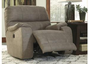 Solstice Taupe Power Rocker Recliner