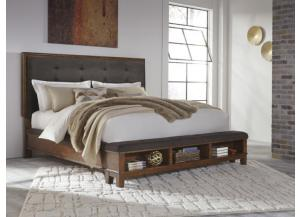 MB120 Rustic Charm King Storage Bed