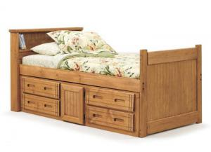 Twin Storage Captains Bed