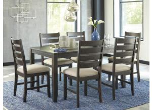 DR100 Rough Sawn Dining Table & 6 Chairs