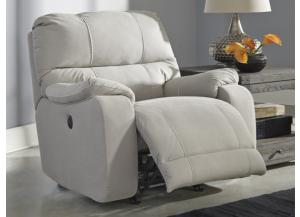 Solstice Putty Power Rocker Recliner