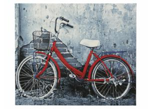 Red Bike Canvas - 26