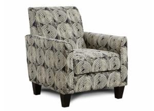 Spiral Onyx Accent Chair