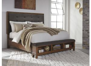 MB120 Rustic Charm Queen Storage Bed