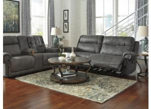 Adams Gray 2-Seat Reclining Sofa