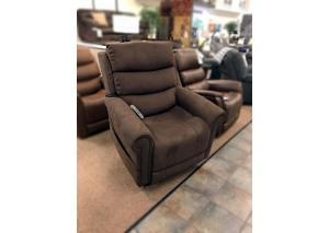 Fudge Lift Recliner w/ Adjustable Headrest and Lumbar