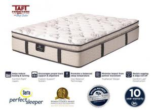Serta® Perfect Sleeper Super Pillow Top Queen Mattress
