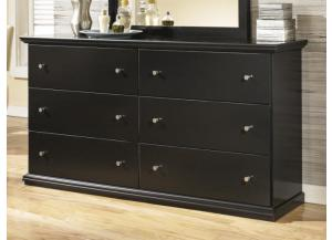 MB4 Cottage Black Dresser