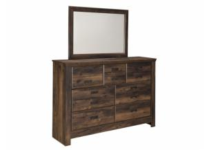 MB16 Rustic Cottage Dresser & Mirror