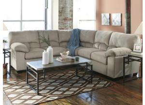 Cloud Alloy 2-Piece Sectional