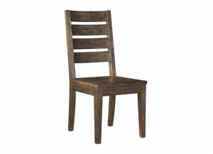 DR91 Dark Brown Side Chairs: Set of 2