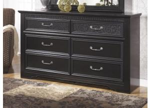 MB21 Black Mansion Dresser