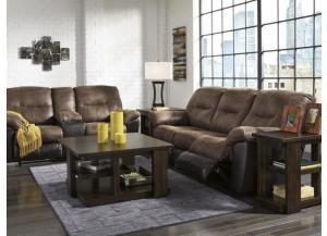 Coffee Reclining Sofa