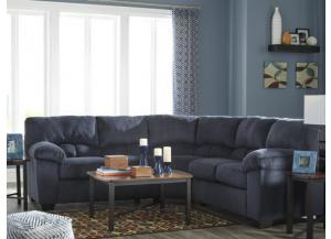 Cloud Midnight 2-Piece Sectional