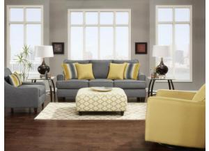Maxwell Gray Sofa