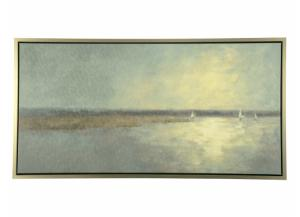 Seascape Framed Canvas - 56