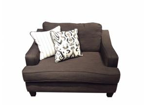 LR104 Odin Pewter Chair-and-a-Half