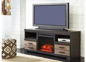Ashford TV Stand with Fireplace Insert