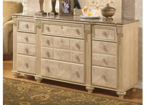 MB23 Old World Beige Dresser
