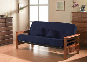 Orlando Futon with Accent Pillows