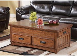Taft Furniture & Sleep Center Mission Oak Chairside End Table