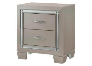 YB17 Glam Nightstand