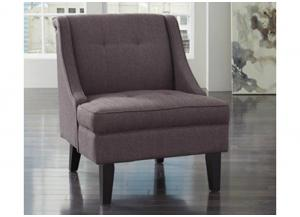 Gray Accent Chair from the Clarinda Collection