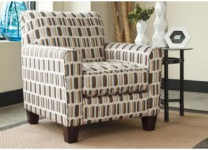 LR67 Print Accent Chair from the Nugat Collection