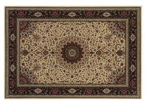 Ivory Traditional Area Rug - 7'10