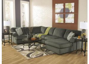 LR65 Pewter Three Piece Sectional from the Schooner Collection