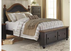MB90 2-Tone Queen Storage Bed