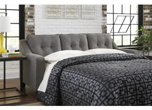 Charcoal Queen Sleeper Sofa from the Brindon Collection