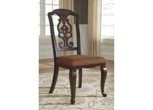 DR117 Traditional Elegence Side Chair: Set of 2