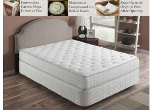 Plush Twin Grab & Go Mattress in a Box