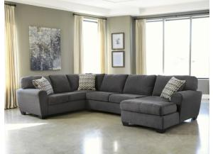Slate 3-Piece Sectional from the Philosophy Collection
