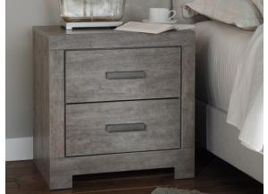 MB123 Gray Nightstand