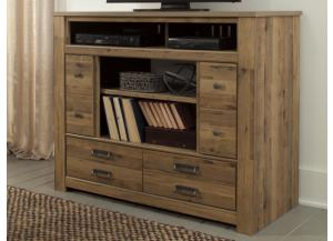 MB67 Vintage Light Brown Media Chest