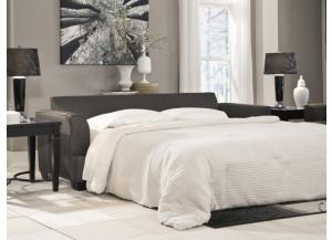 LR84 Charcoal Queen Sleeper Sofa from the Calligraphy Collection