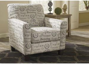 LR44 Script Accent Chair from the Teahouse Collection