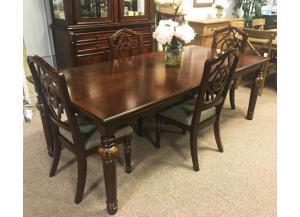 DR69 Dining Table & 4 Chairs