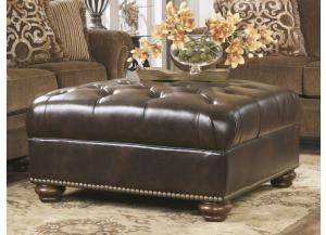Keytown Antique Oversize Accent Ottoman