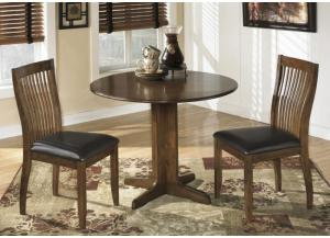 DR8 Comb Back Dining Table & 2 Chairs
