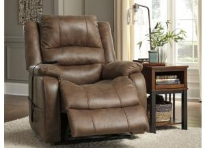 Saddle Dual-Motor Power Lift Recliner